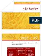 hsa review powerpoint