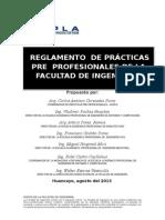 Reg. de Practicas Pp Para Vicerectorado Corregido..Docx 11 -2013