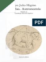 Fabulas. Astronomia - Cayo Julio Higino