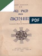 Ambelain Robert - Au Pied Des Menhirs