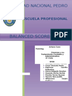 Trabajo Oficial de Balance Scorecard