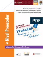 previolem Guia Preescolar SEP