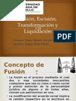Fusión Escisión y Transformación