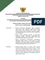 Pb No. 6 Tahun 2013 Koordinasi Pengawasan Dan Penindakan Peredaran Pangan Dan Barang Yang Mengandung Bahan Berbahaya