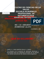Análisis Oclusal Funcional