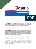 La Informatica Glosario