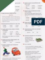 Ejercicios Verbos pg67 Santillana