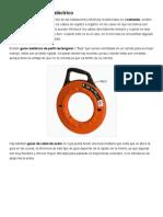 Herramientas para cableado eléctrico