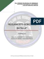 Reglamento Robot Batalla 3060120 Lb