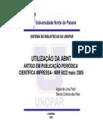 Nbr 6022 Artigos Cientificos Impressos2013