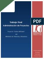 Informe Trabajo Administración de Proyectos