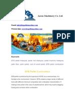 EFB Pellet Combustion