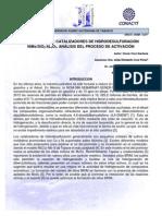 Catalizadores de hidrodesulfuración