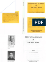 Computing Science in Ancient India