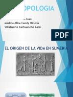 El Origen de La Vida en Sumeria