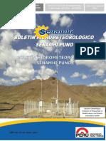 Boletin Hidrometeorologico Regional Senamhi Puno