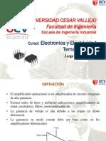 Diapositivas S08 - Electronica y Electricidad - Opamp