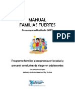 Familias Fuertes - Manual de Recursos Para El Facilitador