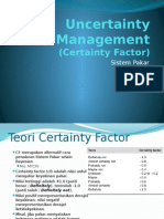 5.2-Uncertainty Management (Certainty Factor) 1