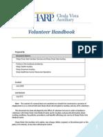 Volunteer Handbook SCV 2012