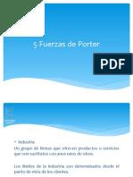 5 Fuerzas Porter CG 211765