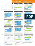 Calendario Académico FAD 2015-2016