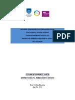 """Informe de Diagnóstico Organizacional Con Perspectiva de Género Para La Implementación Del """"Modelo de Calidad Con Equidad de Género"""" en La Udelar"""