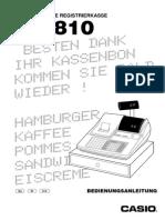 Casio TK-810 Manual DE