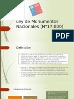 Ley de Monumentos Nacionales (N°17.pptx