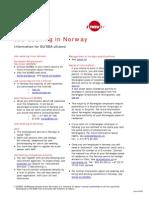 Job Seeking in Norway (Faktaark Engelsk)