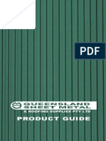 Queensland Sheet Metal & Roofing Supplies - Product Guide