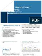 Apple Weekly Project Reporting 04.23.2015