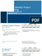 Apple Weekly Project Reporting 05.07.2015