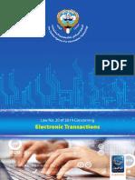 Kuwait Electronic Transaction Law (2014/20)