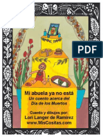 Mi Abuela Dia de Muertos, tradiciones mexicanas, preescolar