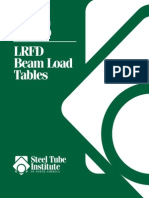 l Rfd Beam Load Tables