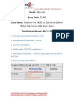Braindump2go New Updated 70-457 Practice Exams Questions Free Download (31-40)