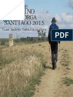 Guia de Peregrino 2015. Astorga-Santiago