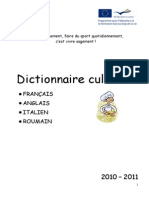 Dictionnaire Culinaire