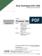 AC07-1250 - promisol 1003B
