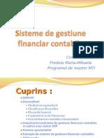 Sisteme de Gestiune Financiar Contabila