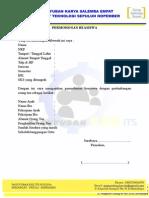 Surat Lamaran Beasiswa 2014-2015