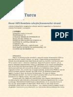 Calin N. Turcu - Dosar OZN Romania