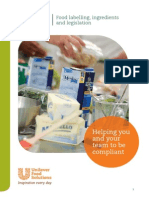 Food Labelling the Consumer Protection Act