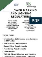 FAA Tower Marking and Lighting Regulations
