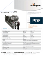 Sundyne Pinnacle Centrifugal Compressor Data Sheet