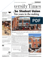 The University Times - August 28, 2009