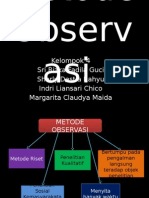 Metode Observasi