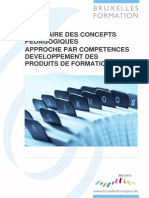 Glossaire Concepts Pédagogiques APC Mai 2013