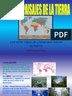 Presentación climas y paisajes de la tierra